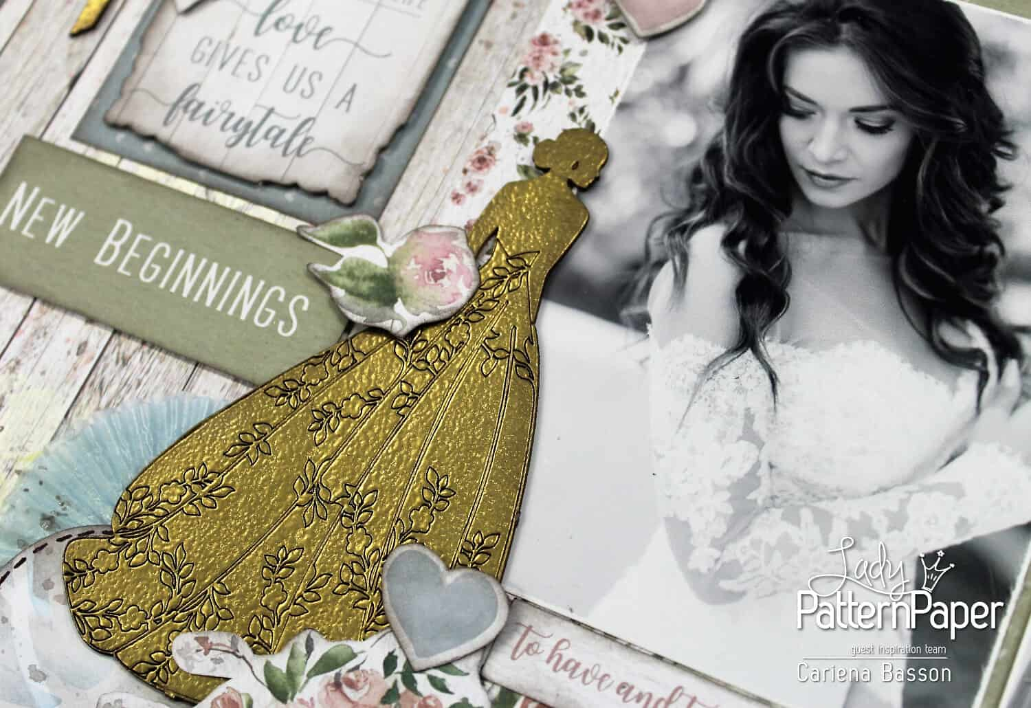 Always and Forever - Oh Happy Day - Bride Chipboard