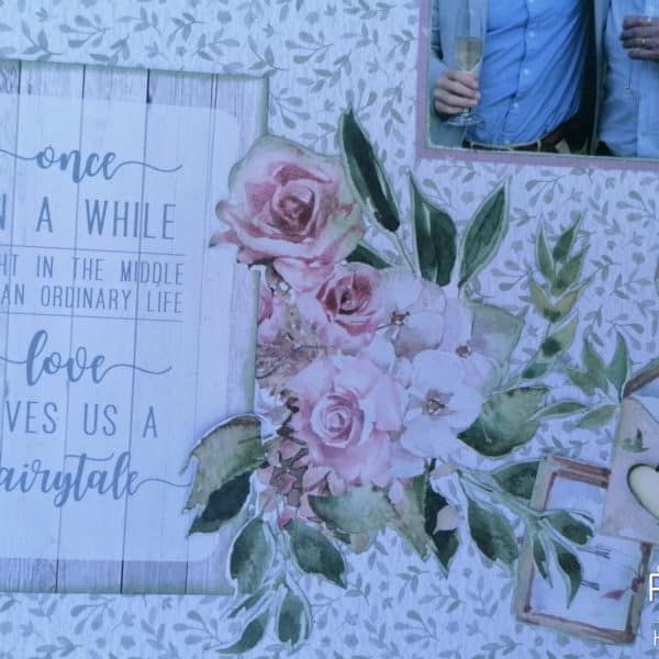 Always and Forever - Scrapbook Layout - Sentiments