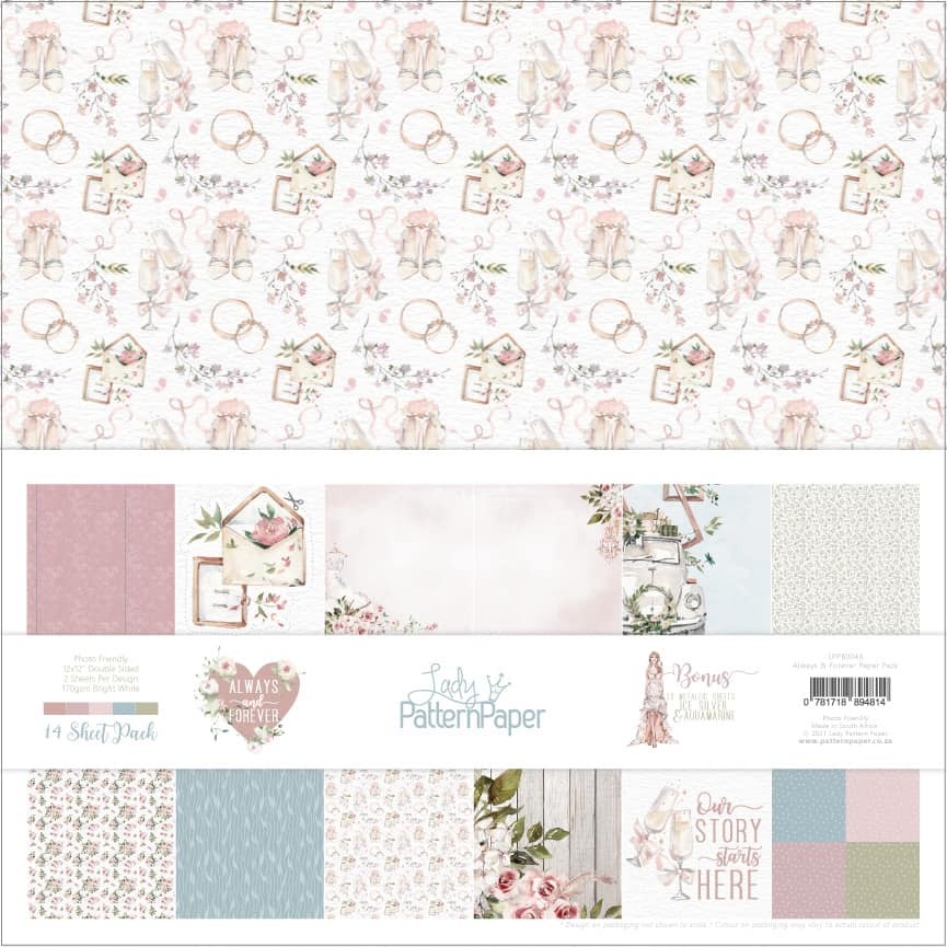 LPPB0046 - Always and Forever Paper Pack