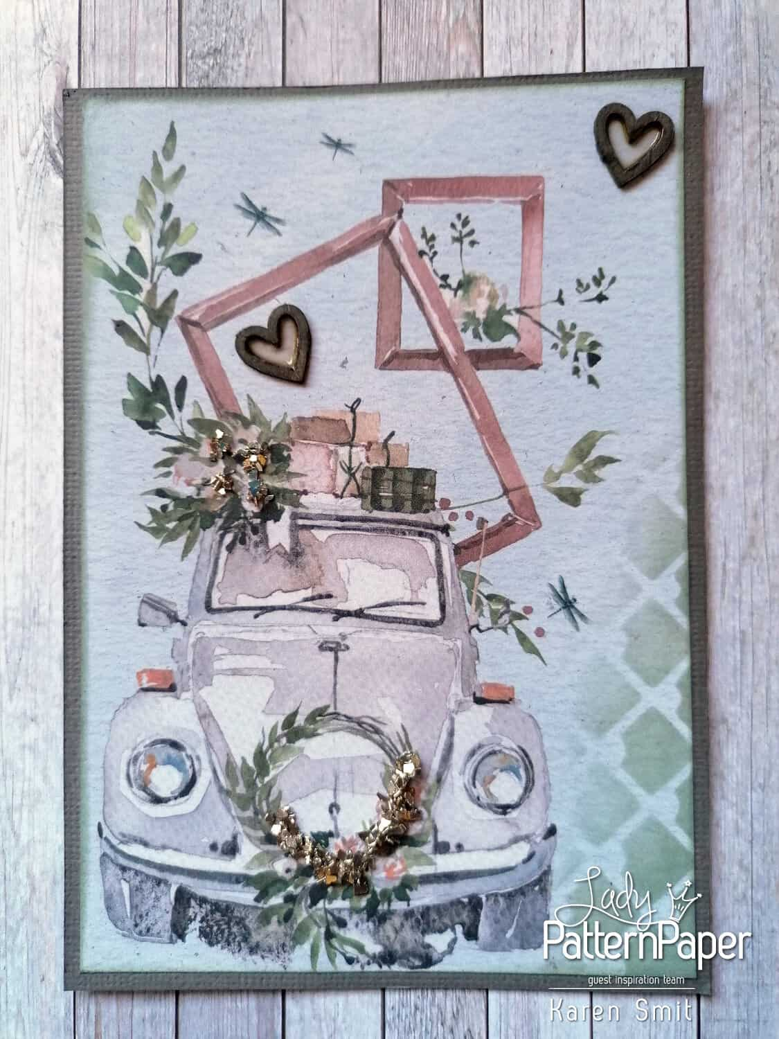 Always and Forever Beetle Card