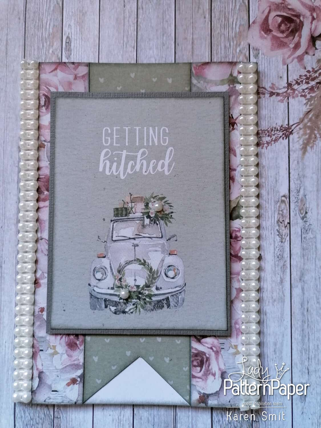 Always and Forever Getting Hitched Card