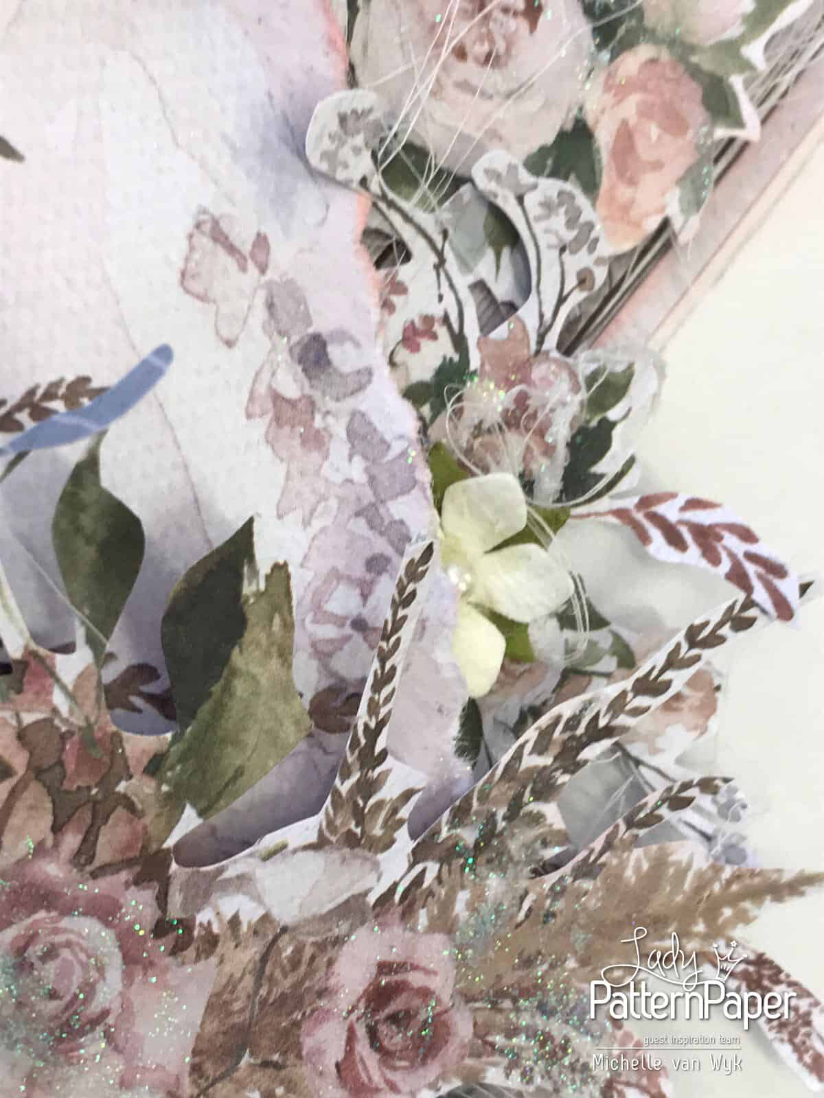Always and Forever The Dress Double Page - Flowers