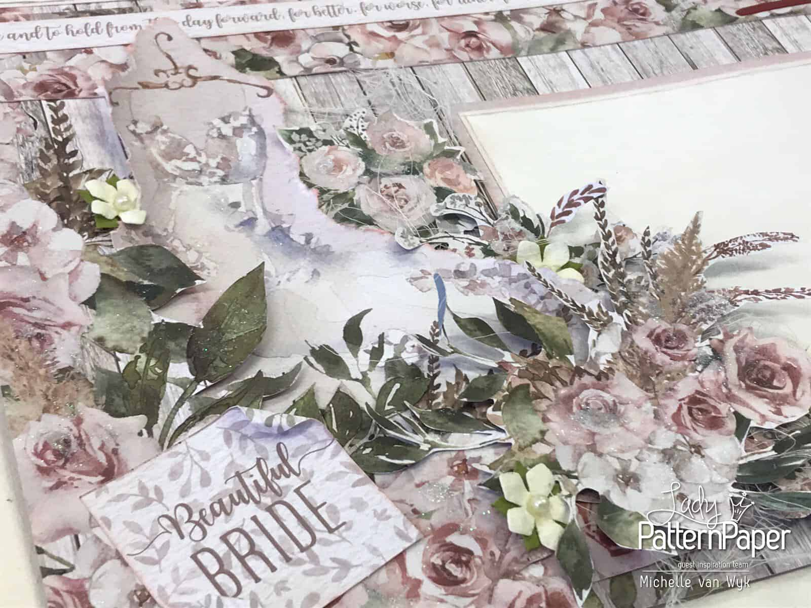 Always and Forever The Dress Double Page - Bride