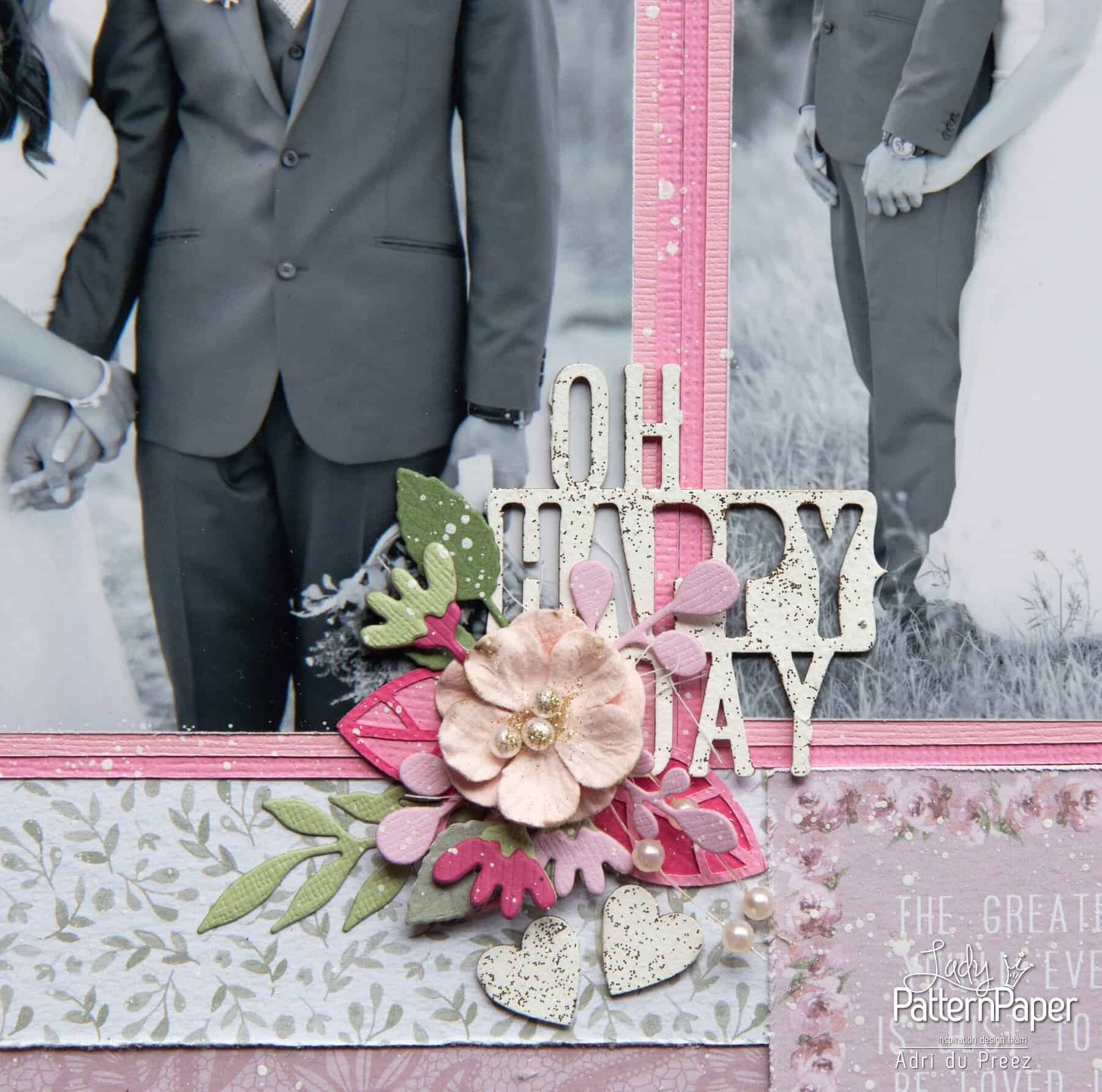 Always and Forever - First Kiss Layout - Happy Day