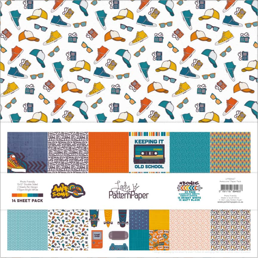 LPPB0047 - Awesome - Paper Pack