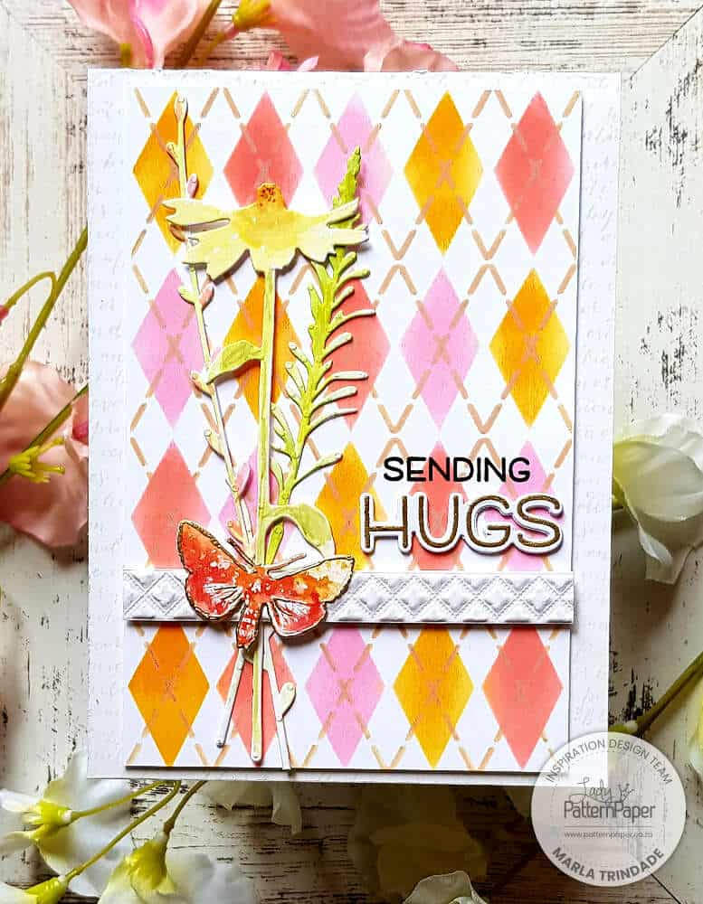 Double Layer Stencil Cards
